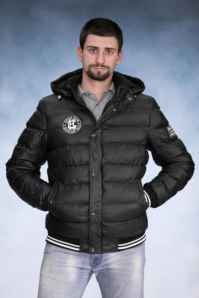 Muška zimska jakna - Sportska i Casual - 4227 - Crna