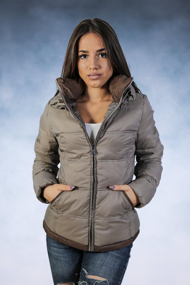 Ženska zimska jakna - Sportska i Casual - Staff Nina - Bež 1