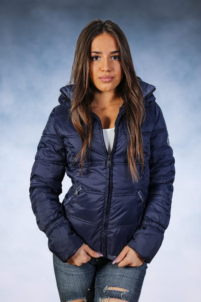 Ženska zimska jakna - Sportska i Casual - Staff Nina - Teget 1