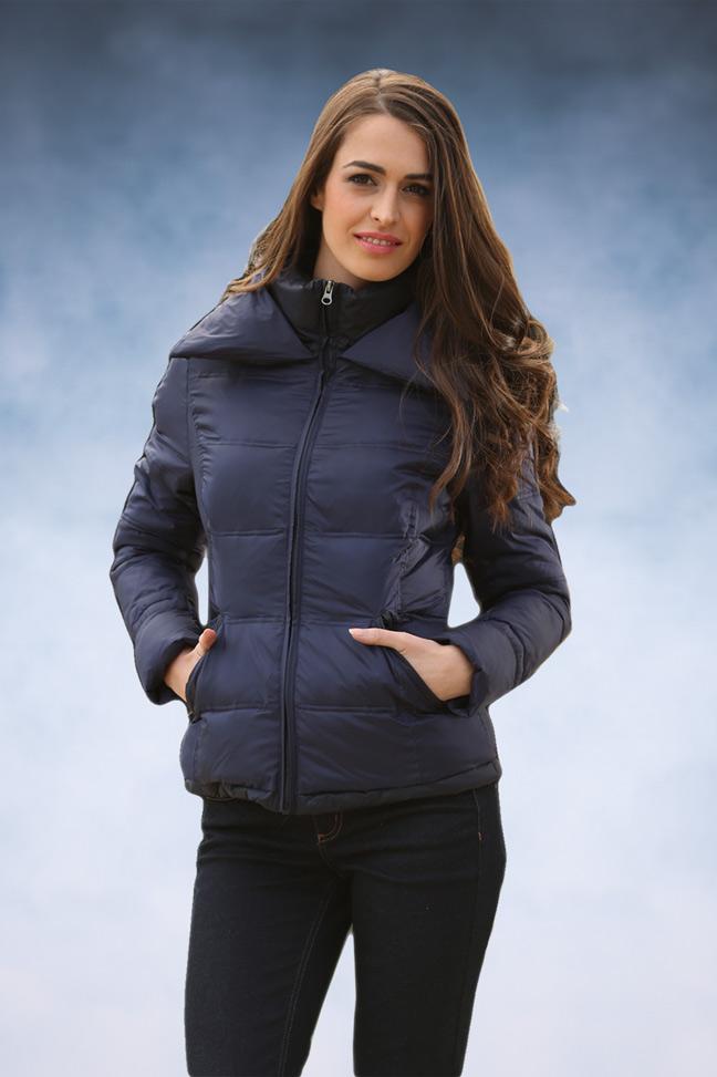 Ženska zimska jakna - Sportska i Casual - Staff Nina - Teget 2