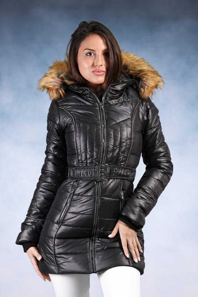 Ženska zimska jakna - Sportska i Casual - Samantha 5 - Crna