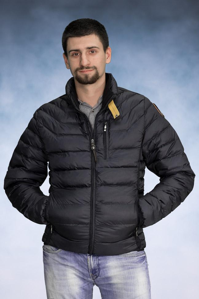 Muška zimska jakna - Sportska i Casual - 508 - Teget