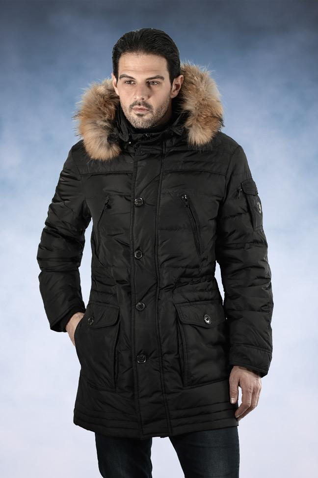 Muška zimska jakna - Sportska i Casual - Staff Alaska - Crna