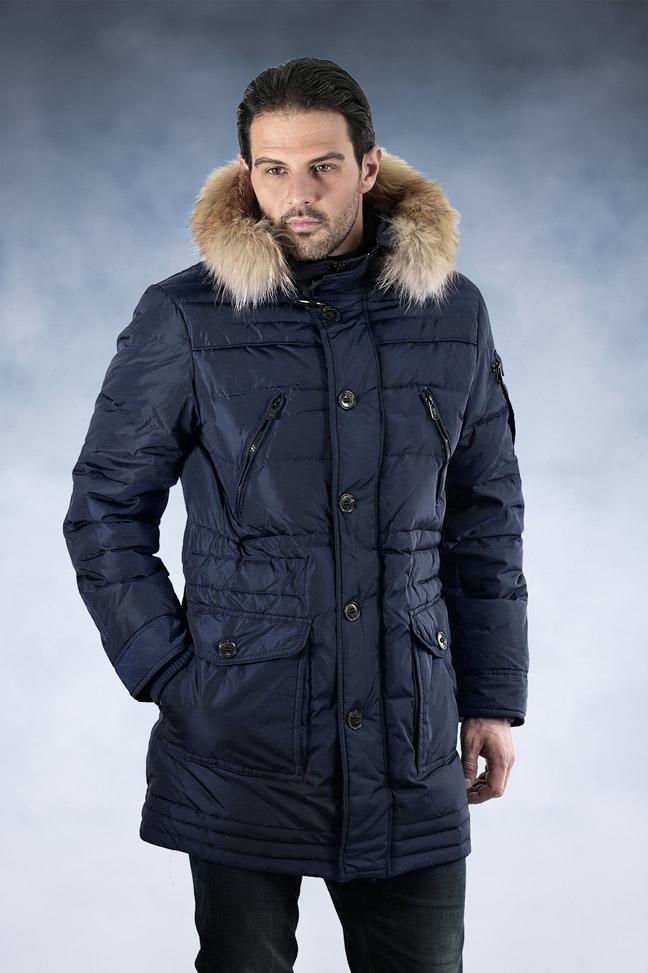 Muška zimska jakna - Sportska i Casual - Staff Alaska - Teget
