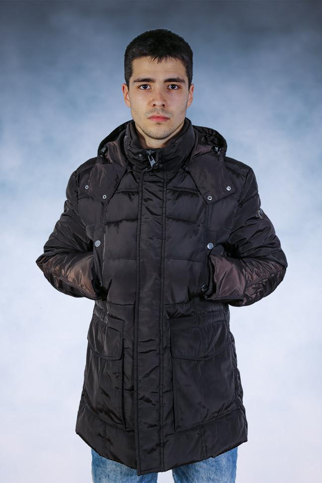 Muška zimska jakna - Sportska i Casual - STAFF Denato - Braon
