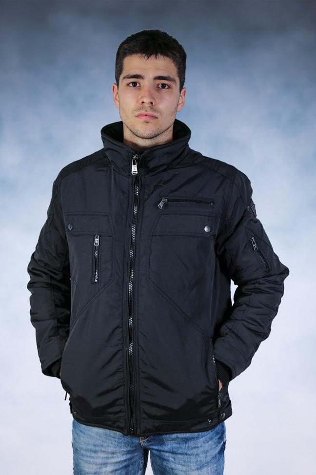 Muška zimska jakna - Sportska i Casual - Staff Diverse - Crna