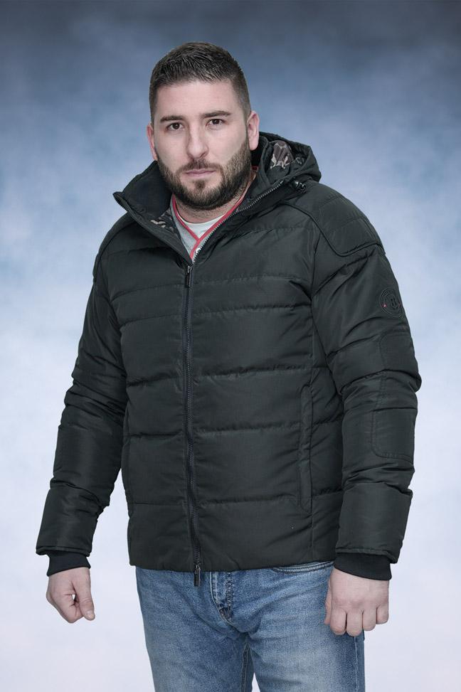 Muška zimska jakna - Sportska i Casual - Staff Gabriel - Crna