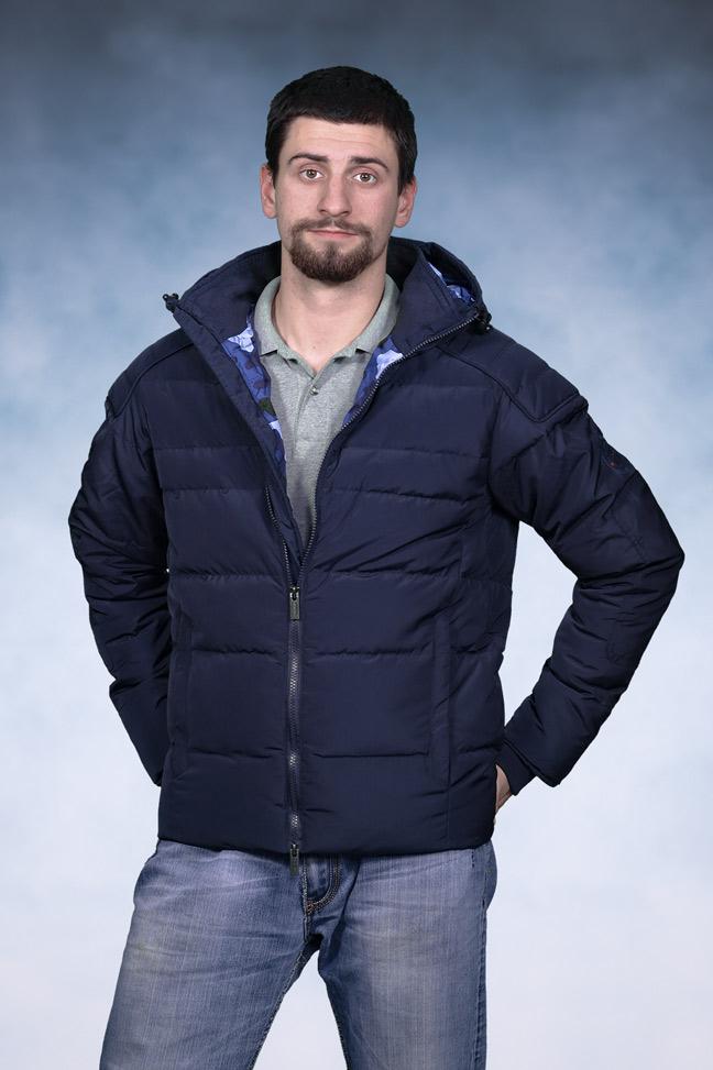Muška zimska jakna - Sportska i Casual - Staff Gabriel - Teget