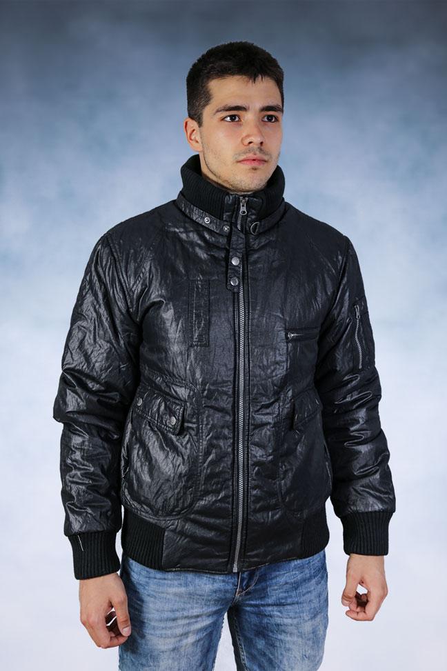 Muška zimska jakna - Sportska i Casual - Staff Oficina - Crna