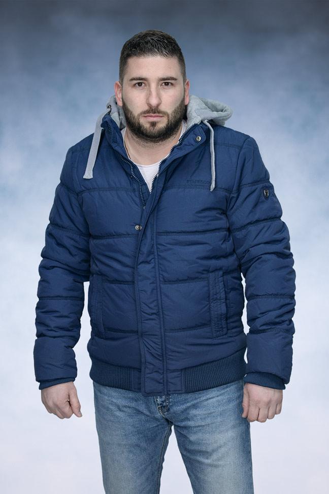 Muška zimska jakna - Sportska i Casual - Staff Ray B - Plava