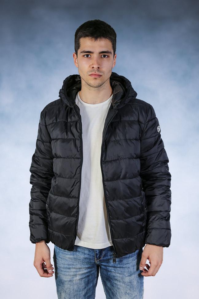 Muška zimska jakna - Sportska i Casual - STAFF Tom - Crna 2