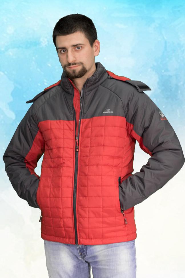 Muška prolećna jakna - Sportska i Casual - HF K-017 - Crvena