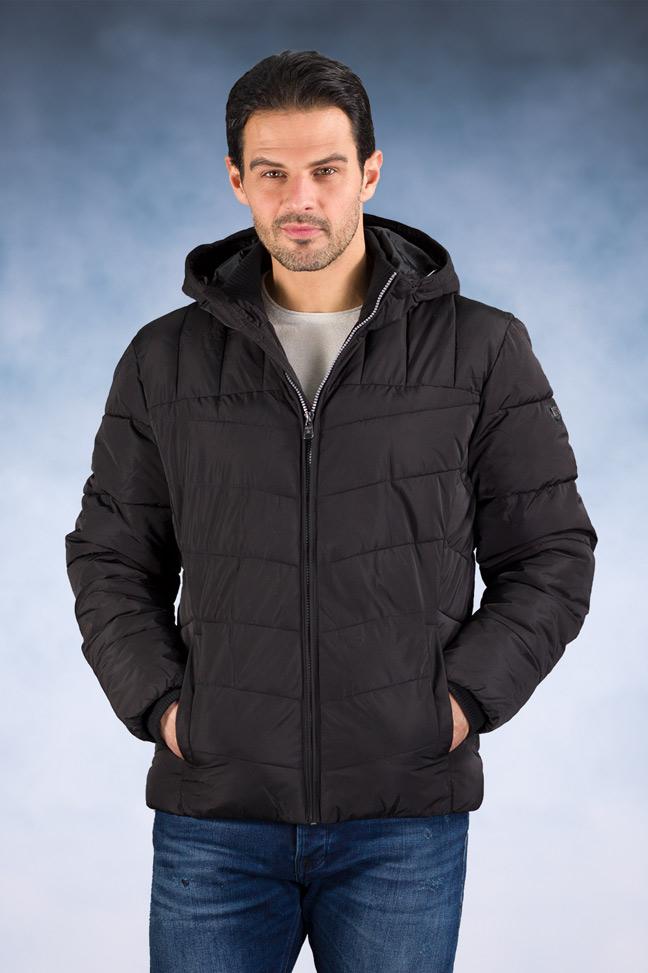 Muška zimska jakna – Sportska i Casual – Staff Jack – Crna