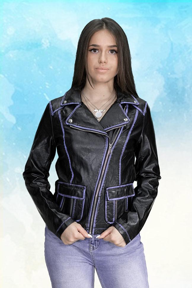 Ženska prolećna jakna - Sportska i Casual - 4019 Crna