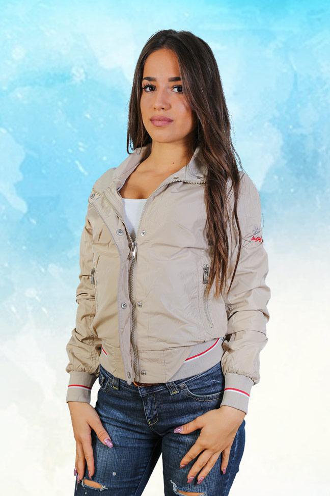 Ženska prolećna jakna - Sportska i Casual - Staff - Jessica - Bež