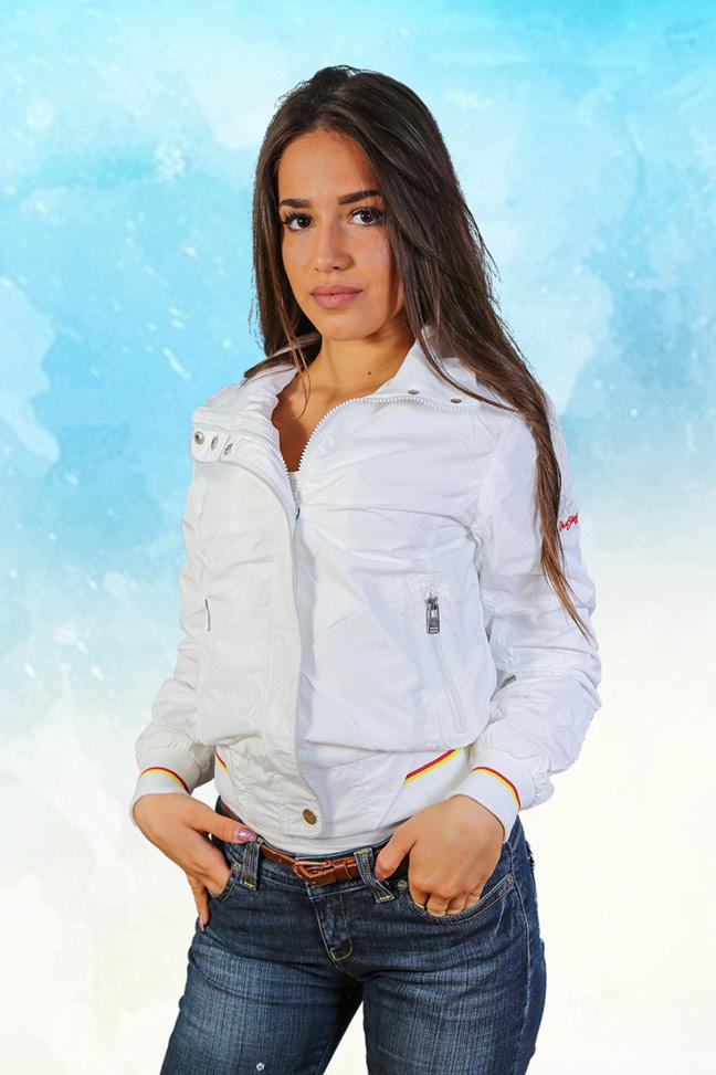 Ženska prolećna jakna - Sportska i Casual - Staff - Jessica - Bela