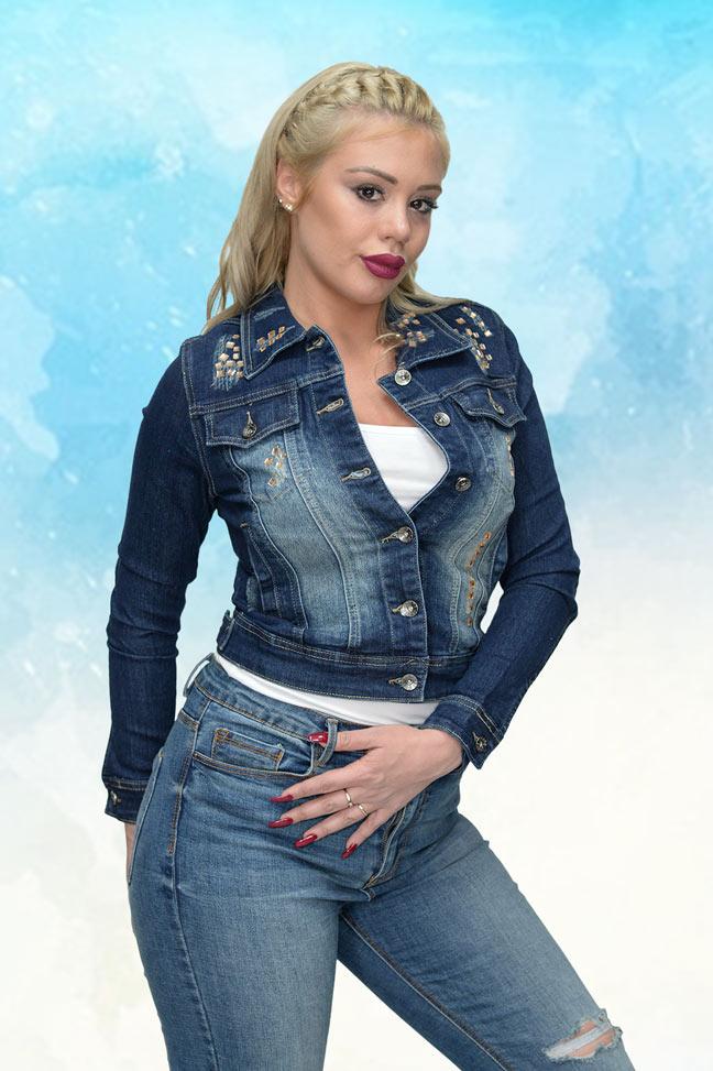 Ženska prolećna jakna - Teksas - Miss Grace 368