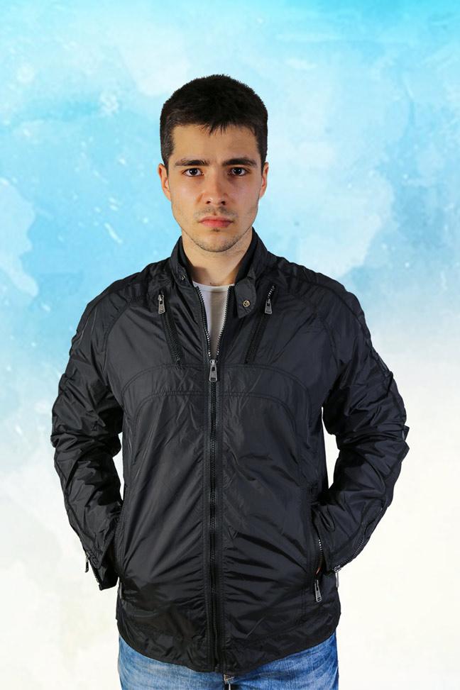 Prolećna jakna STAFF Eros crna