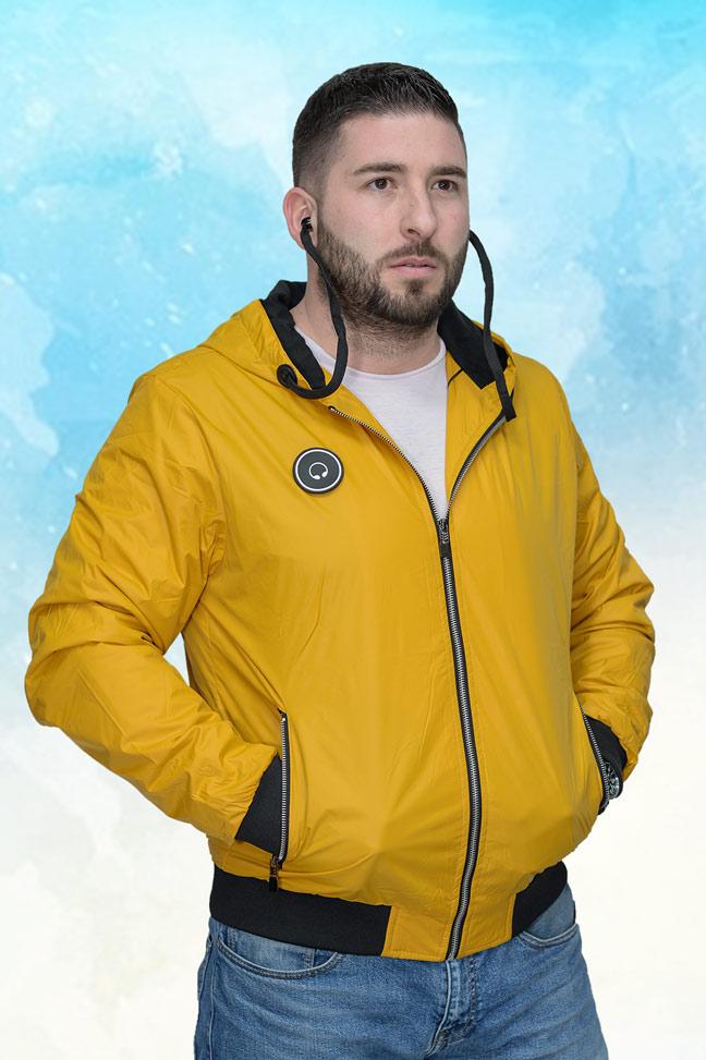 Muška prolećna jakna – Sportska i Casual – 4329 – Žuta
