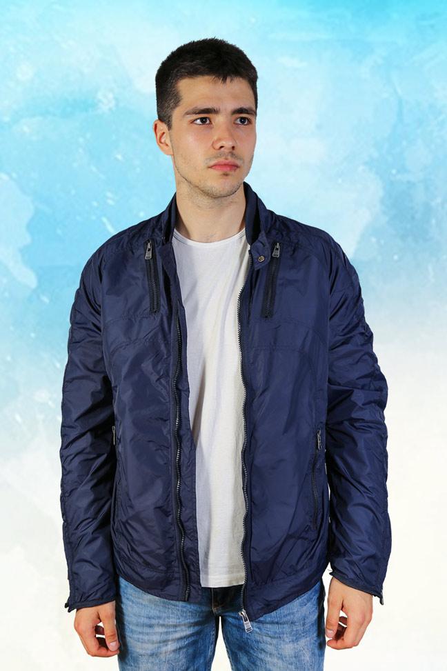 Muška prolećna jakna – Sportska i Casual – Staff Eros – Teget