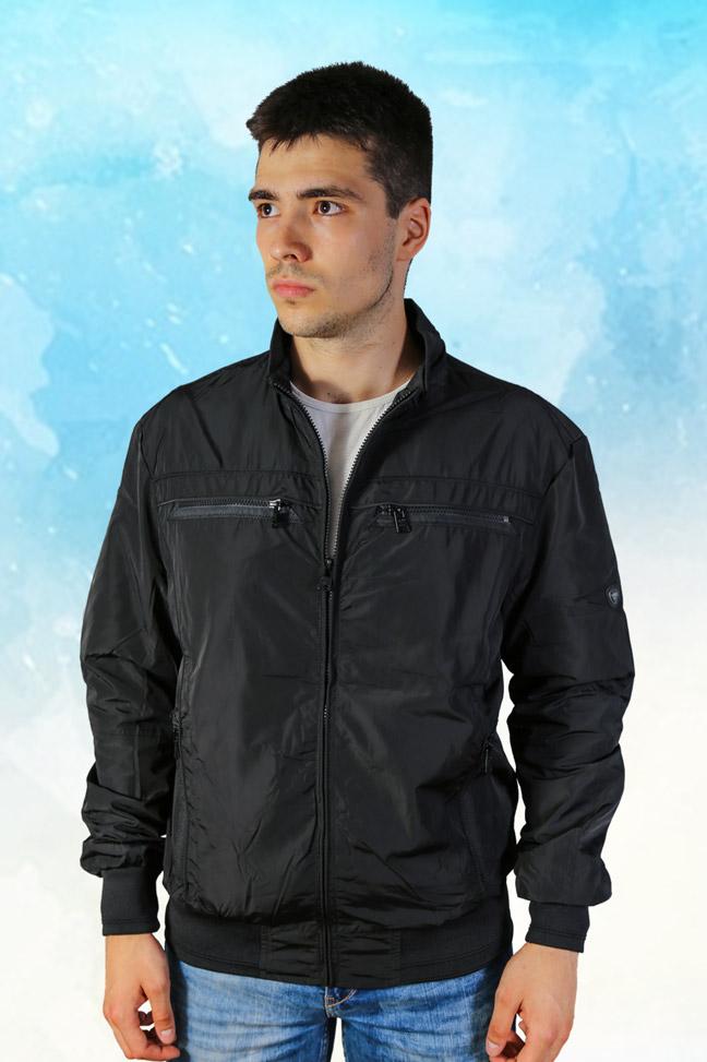 Muška prolećna jakna – Sportska i Casual – Staff MT9100 – Crna