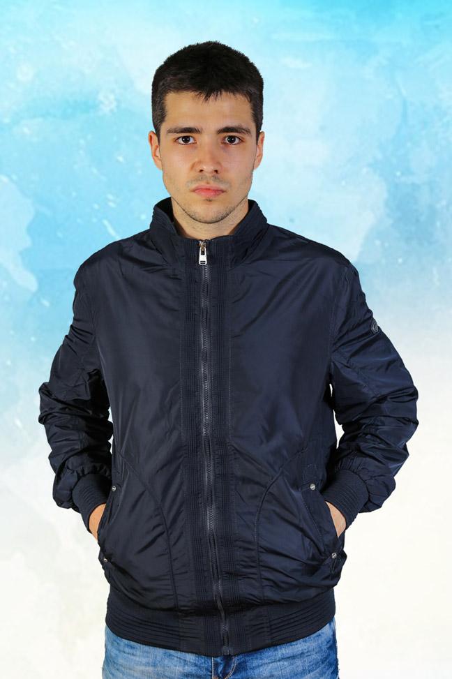 Muška prolećna jakna – Sportska i Casual – Staff MT9101 – Teget
