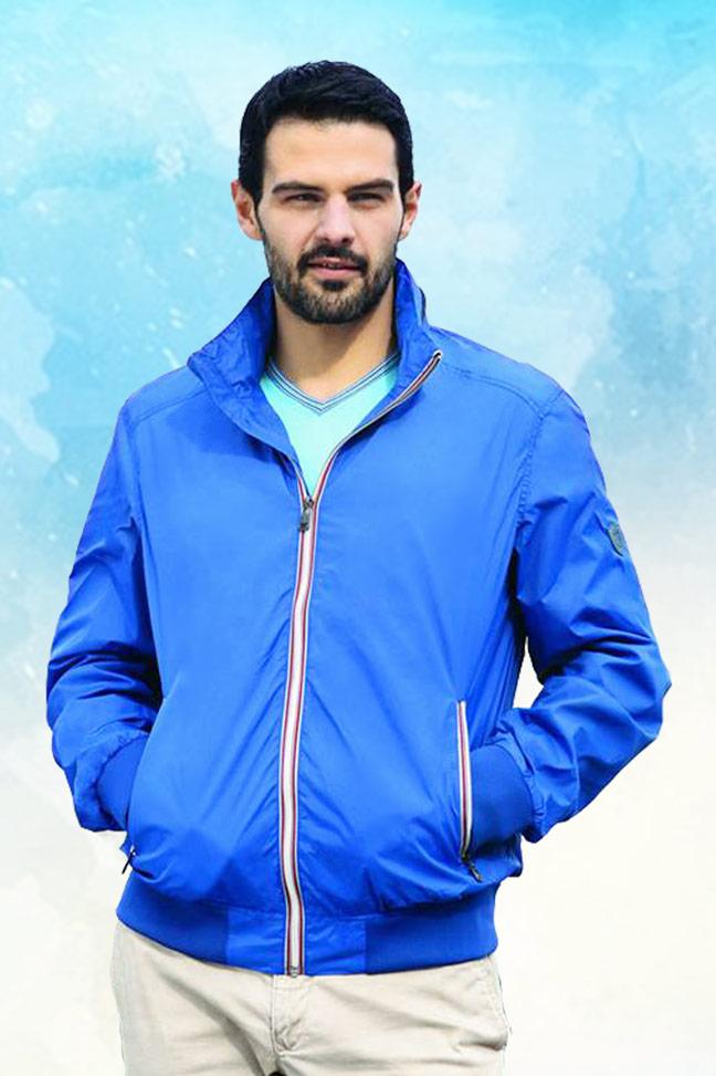Muška prolećna jakna – Sportska i Casual – Staff Mark – Plava