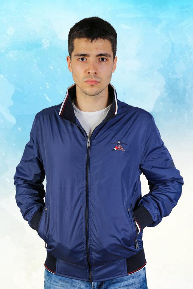 Muška prolećna jakna – Sportska i Casual – Staff Mauro – Teget
