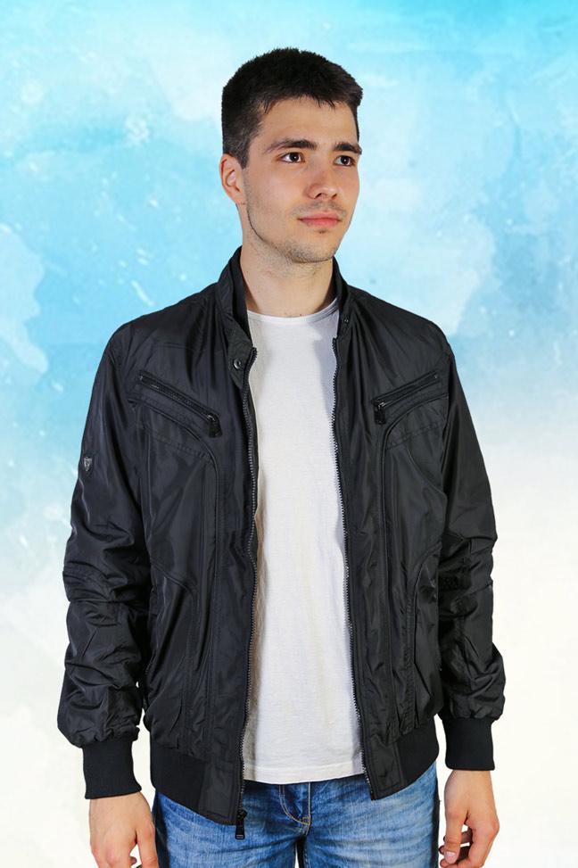 Muška prolećna jakna – Sportska i Casual – Staff SL720 – Crna
