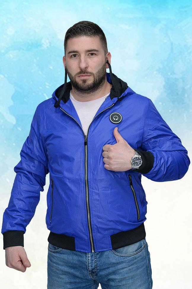 Muška prolećna jakna – Sportska i Casual – 4329 – Plava