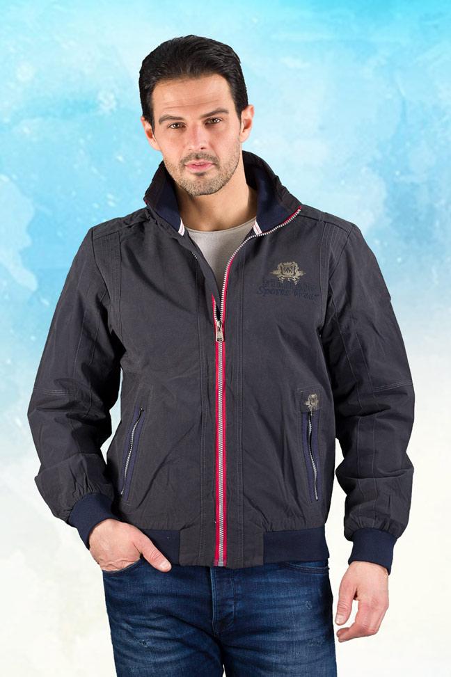 Muška prolećna jakna – Sportska i Casual – Staff GSTWY1 – Teget