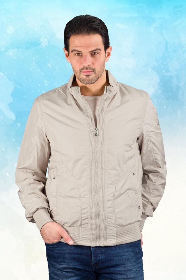 Muška prolećna jakna - Sportska i Casual - Staff MT9101 - Bež