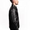 Muška kožna jakna - Martin - Crna