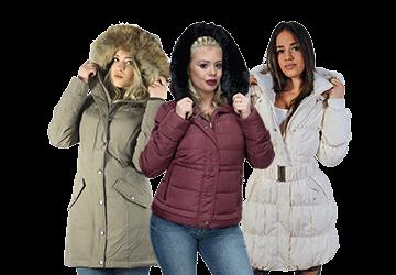 Ženske Zimske Jakne Perjane