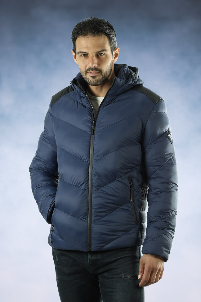 Muška zimska jakna - Sportska i Casual - FST AB100 - Plava