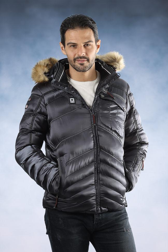 Muška zimska jakna - Sportska i Casual - K30- Plava