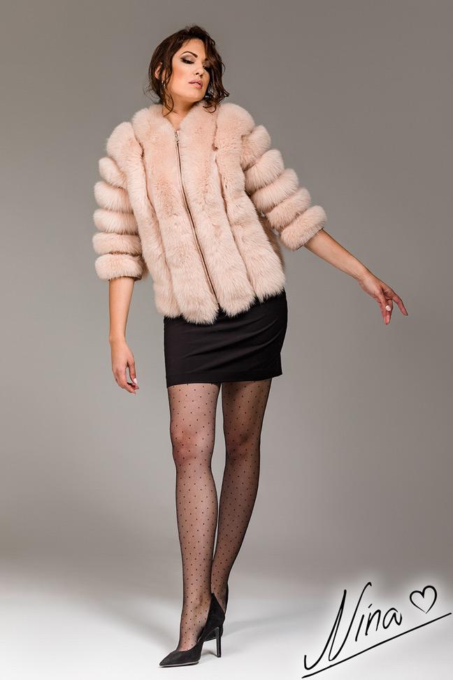 Bunda Ivon - Puder roze 2