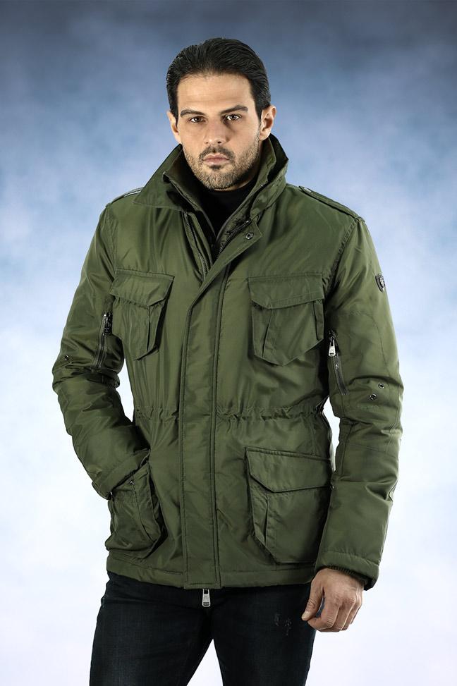 Muška zimska jakna - Parka - Staff Fabio - Zelena