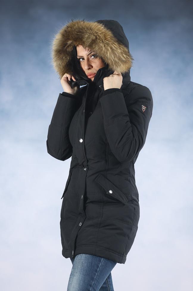 Ženska zimska jakna - Sportske i Casual - STAFF Sammy - Crna