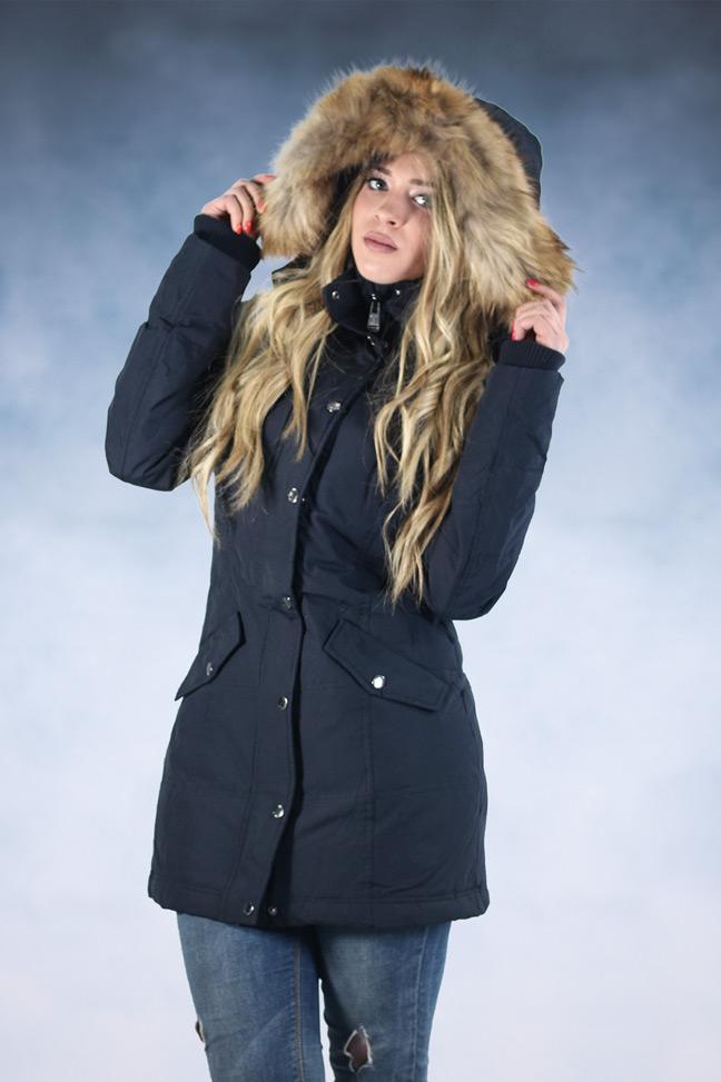 Ženska zimska jakna - Sportske i Casual - STAFF Sammy - Teget