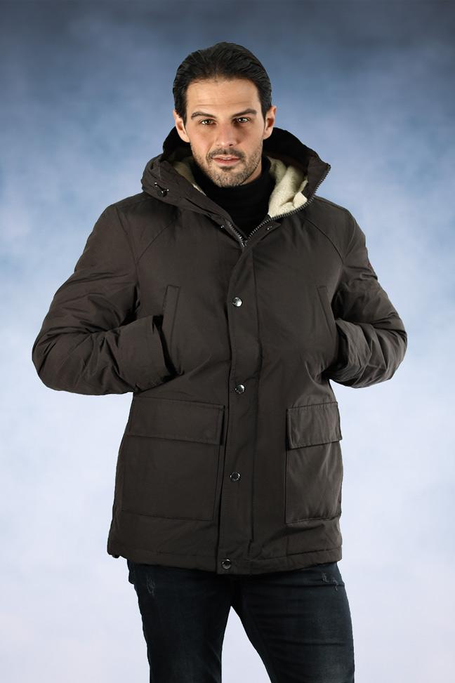 Muška zimska jakna - Sportska i Casual- Staff Blake - Braon