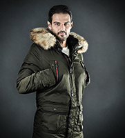 Kožne jakne - La Force - Muške zimske jakne