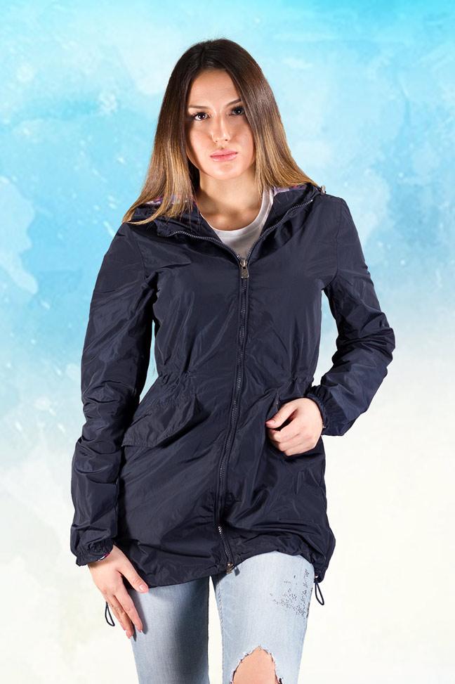 Ženska prolećna jakna - Parka - Invento Ena - Teget