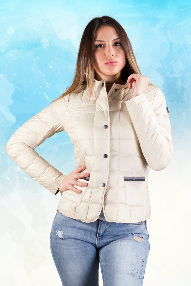 Ženska prolećna jakna - Sportska i Casual - Staff Jeanne - Bež