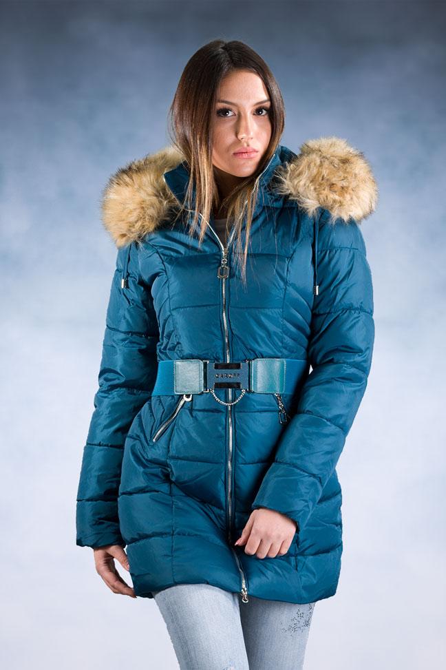 Ženska zimska jakna – Sportska i Casual – 1752 – Plava