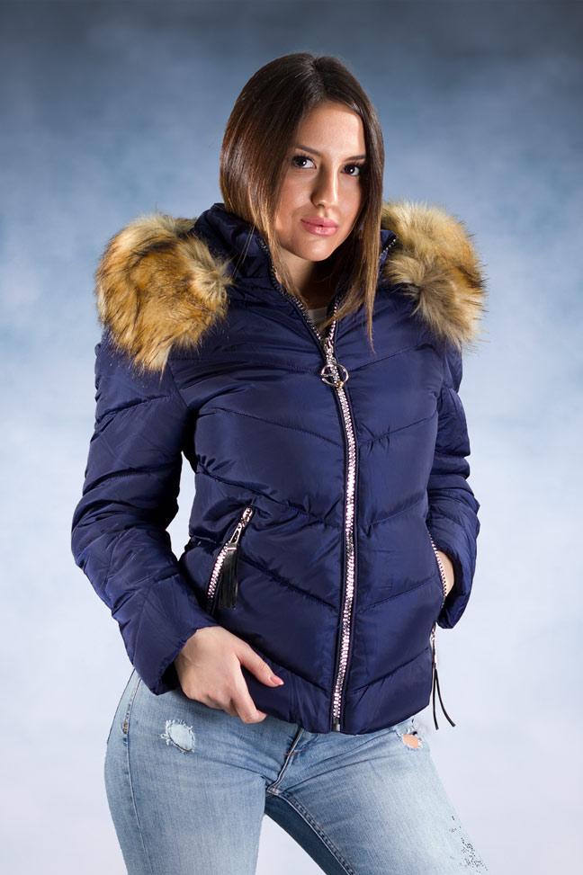 Ženska zimska jakna – Sportska i Casual – 1807 – Plava