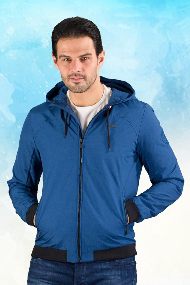 Muška prolećna jakna - Sportska i Casual - Invento Alvin - Plava