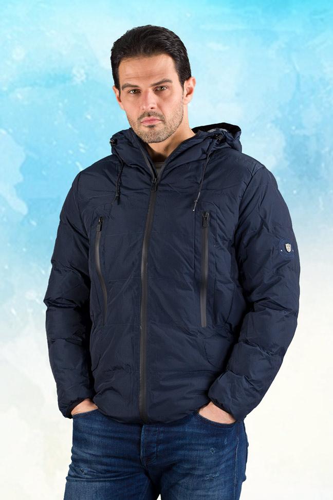 Muška prolećna jakna - Sportska i Casual - Invento Sten - Teget