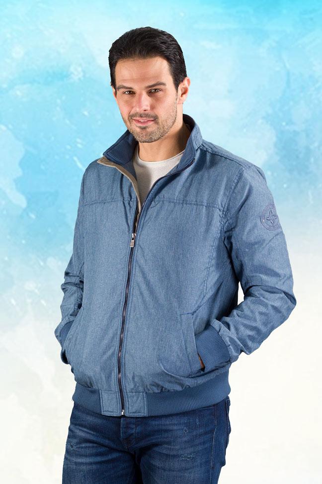 Muška prolećna jakna - Sportska i Casual - Nill - Plava