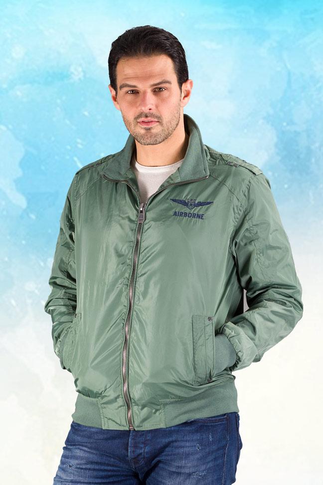 Muška prolećna jakna - Sportska i Casual - Staff Cooper - Zelena